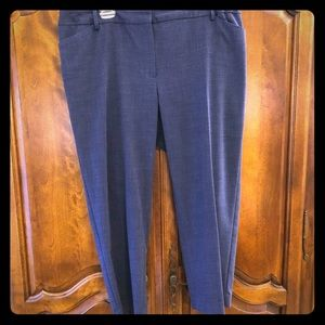 Talbots Hampshire ankle pants 18W Petite